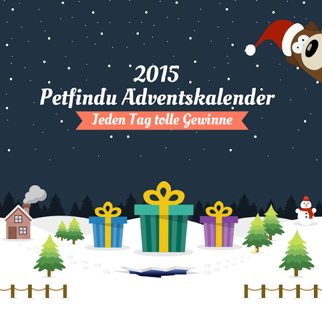 Petfindu, Adventskalender, 2015, Hund, Geschenke, Gewinn, Verlosung