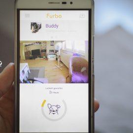 Pinscher Buddy, Buddy and Me, Hundeblog, Dogblog, Produkttest, Erfahrungen, Furbo Hundekamera, Haustierkamera, Alleinbleiben, Sicherheit, Produkte für Hunde, Webcam, Netzwerkkamera, Furbo App