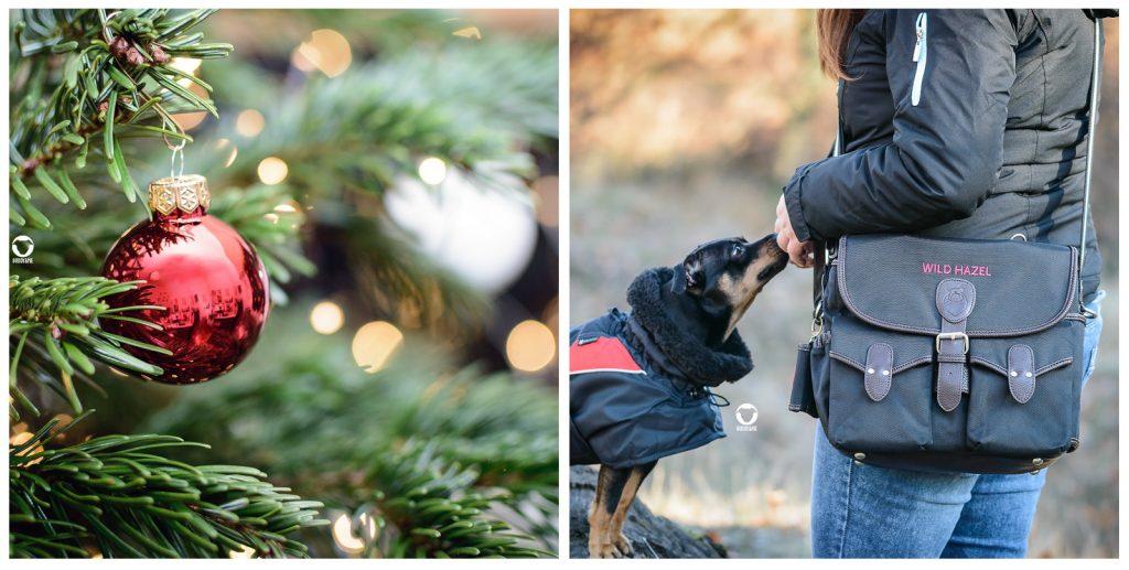 Pinscher Buddy, Buddy and Me, Hundeblog, Dogblog, Weihnachten, Geschenke, weihnachtsgeschenke für Hunde, Geschenkideen, Geschenktipps für Hunde, für Zweibeiner, Last Minute, Wild Hazel Gassitasche, Gutscheine